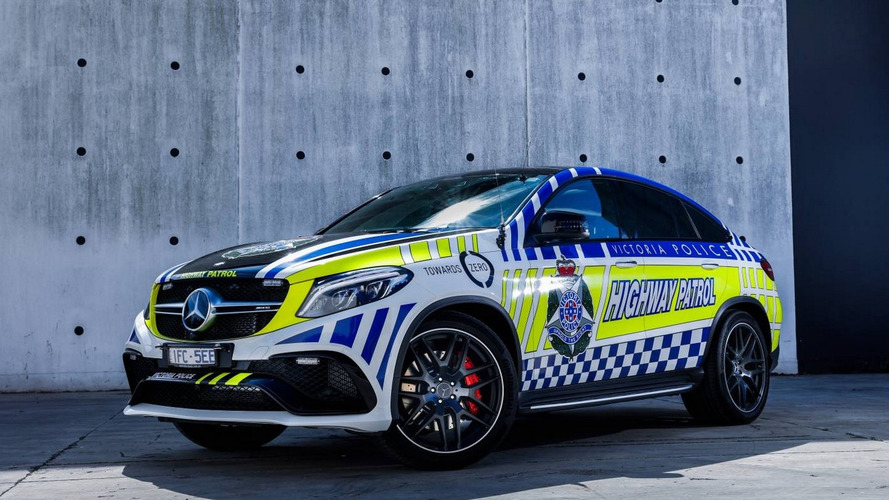 Australia gets Mercedes-AMG GLE 63 S Coupe police car