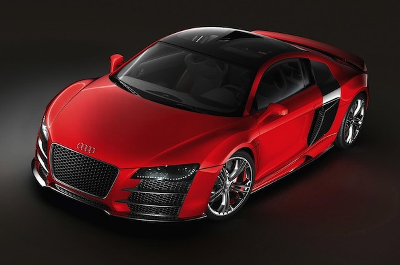 Wheels Wallpaper: Audi R8 TDI Le Mans Concept