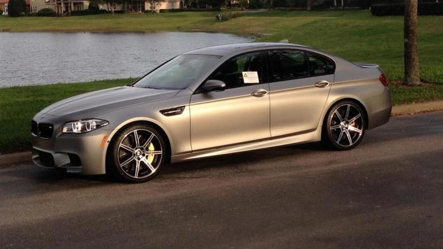 BMW M5 30 Jahre M5 on sale in United States for a hefty $325,000