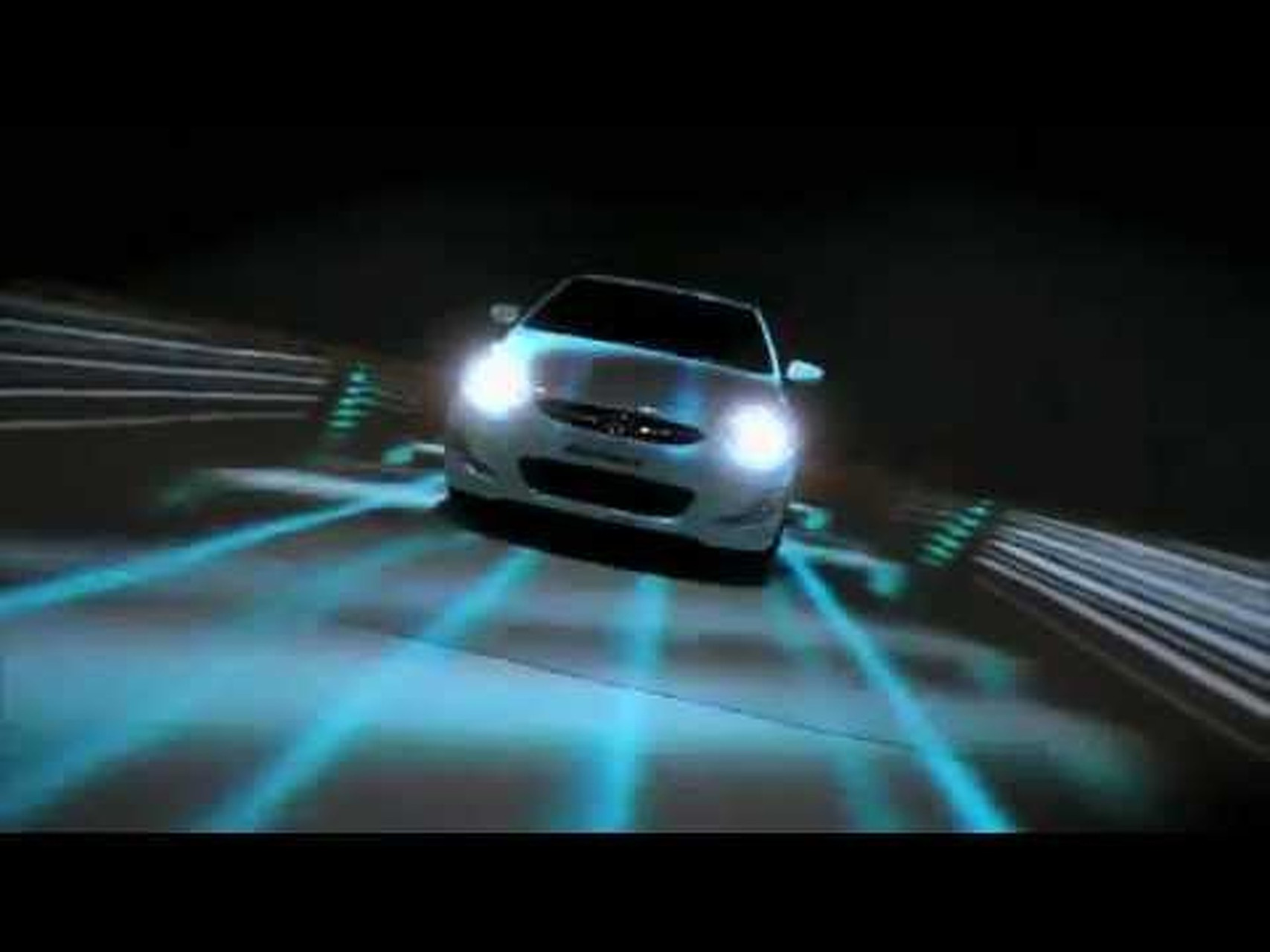 2012 Hyundai Accent 3D Projection
