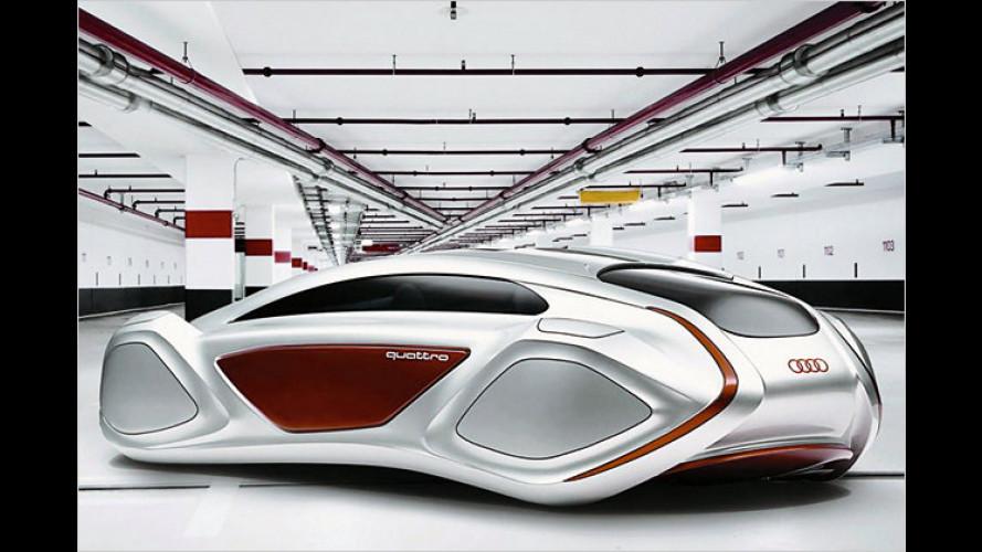 Audi: Münchener Studenten entwerfen Autos für die Zukunft