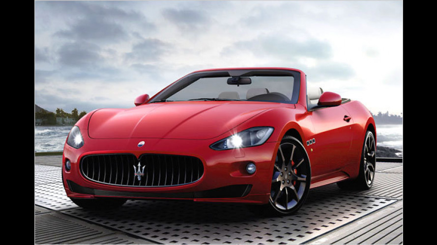 Straßen-Feger: Das neue Maserati GranCabrio Sport