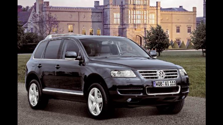 Zweite Topversion: VW Touareg W12 Executive mit 450 PS