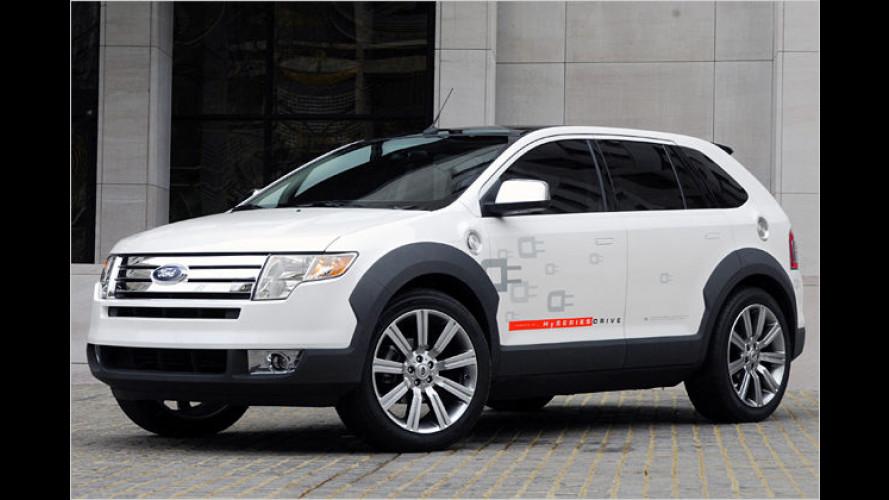 Ford Edge HySeries Drive: Neuer Brennstoffzellen-Hybrid