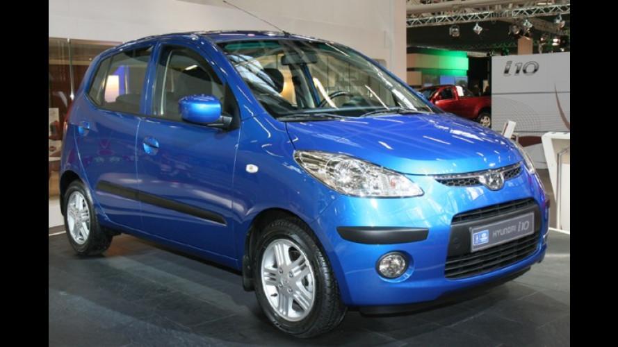 Hyundai präsentiert den Atos-Nachfolger i10 in Bologna
