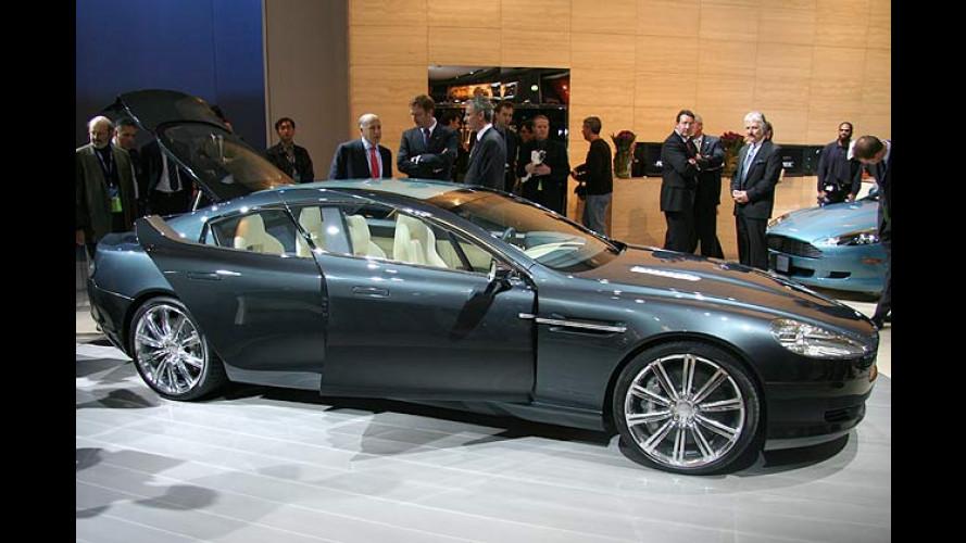 Luxus-Konzept Aston Martin Rapide: Grand mit Vieren