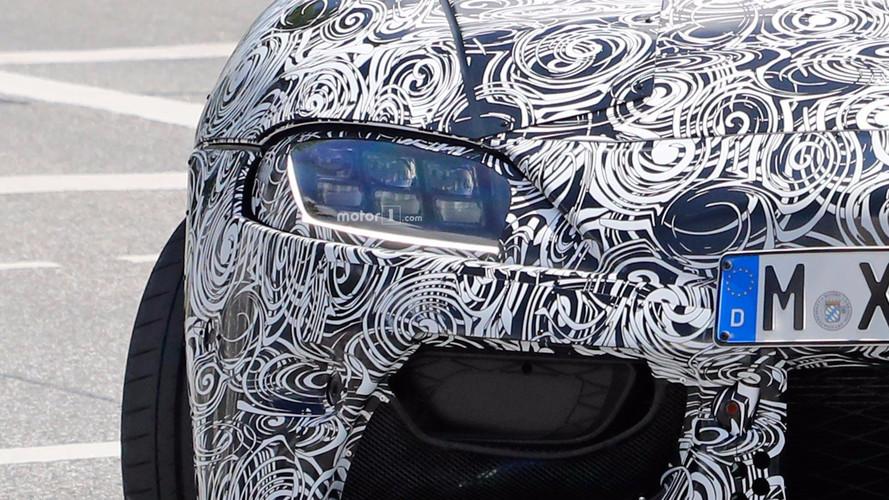 Toyota Supra Headlight Spy Photos