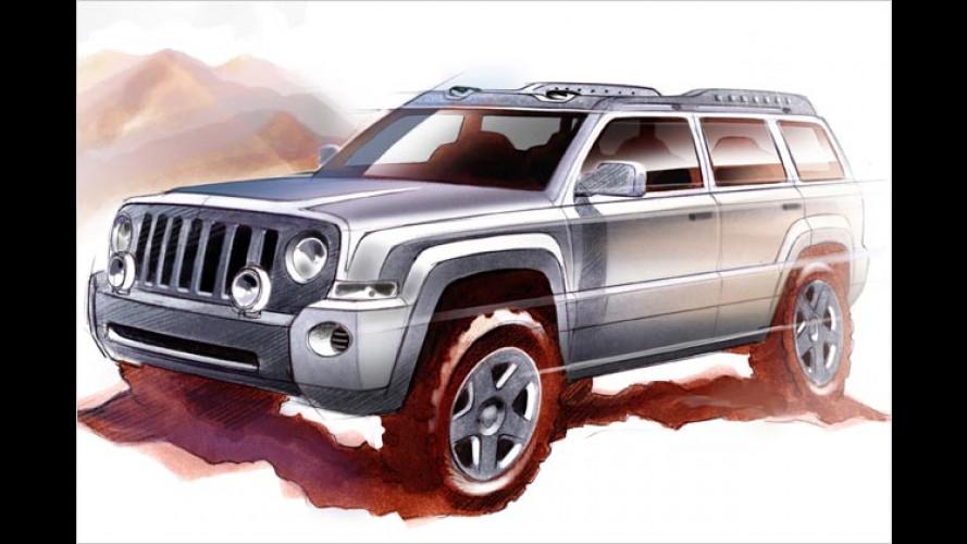 Jeep Patriot: SUV-Studie im klassischen Offroad-Dress