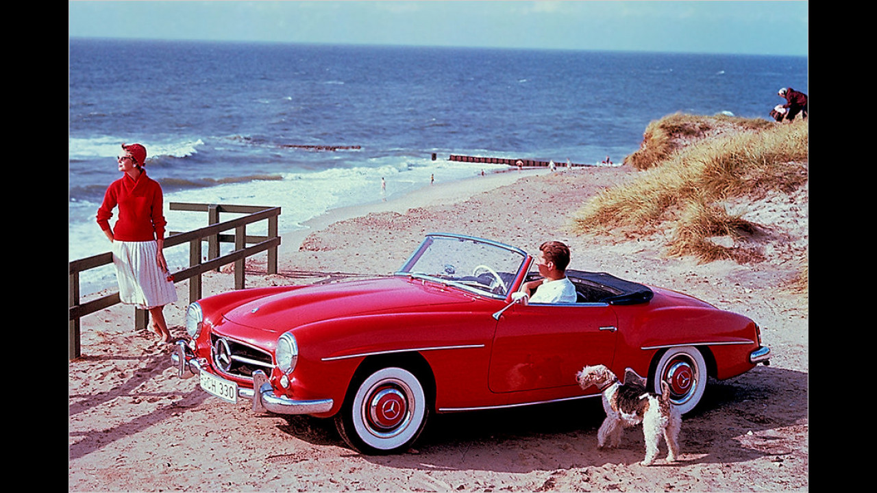 Mercedes 190 SL (1955)