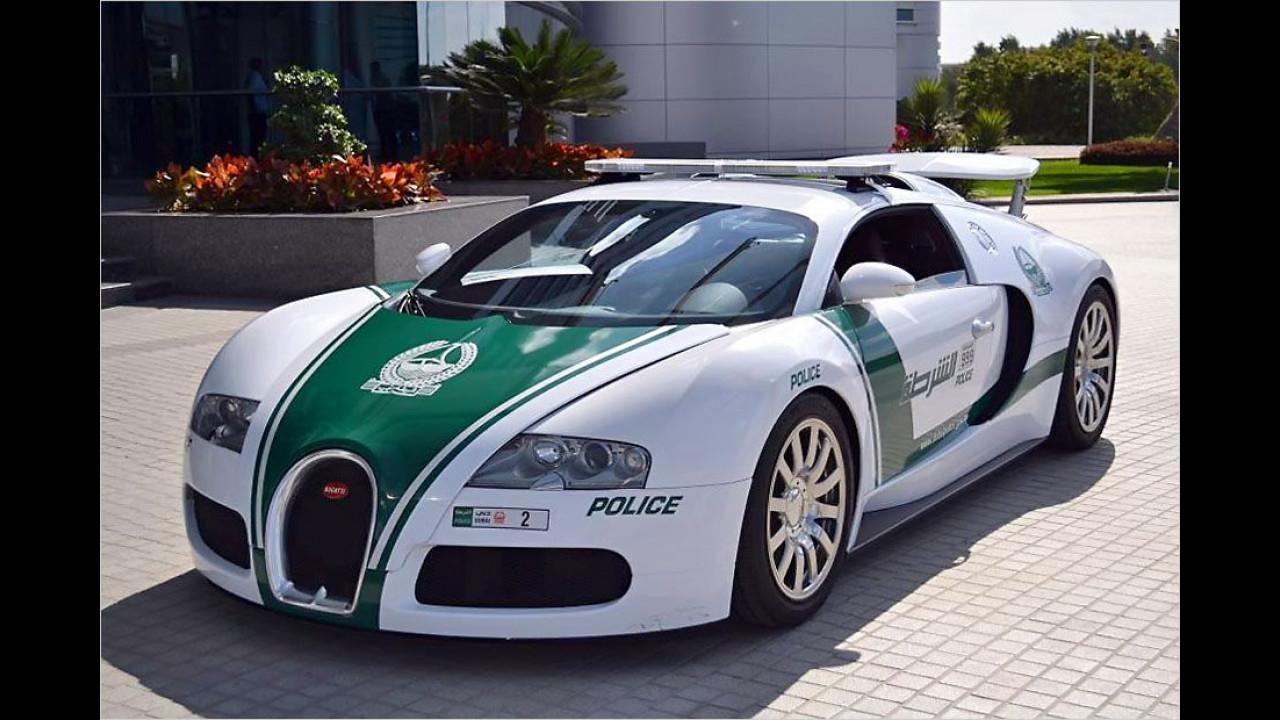 Bugatti Veyron Dubai Police