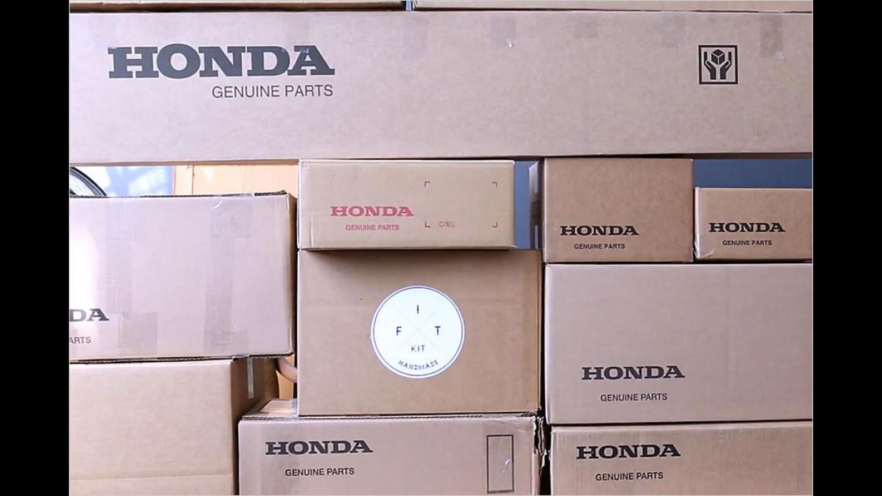 (2014) Honda Jazz zum Selberzusammenbauen