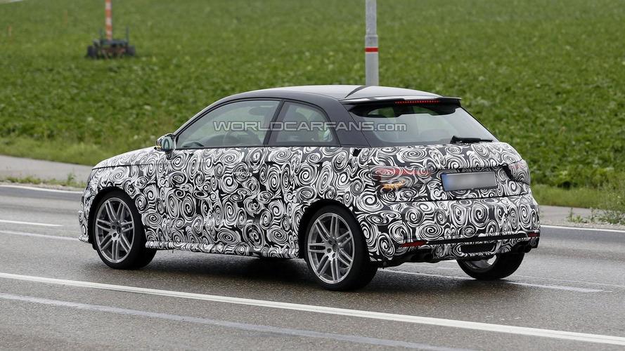 2014 Audi S1 spied in Germany