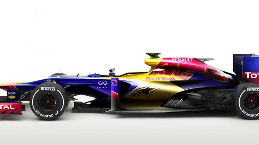 2014 Red Bull RB10 speculatively rendered - car 'related' to title-winning Red Bull