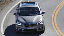 2014 BMW 2-Series Active Tourer spy photo
