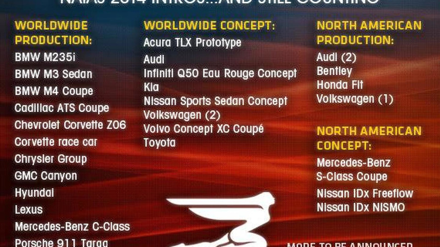 Cadillac ATS Coupe, GMC Canyon & Porsche 911 Targa confirmed for Detroit