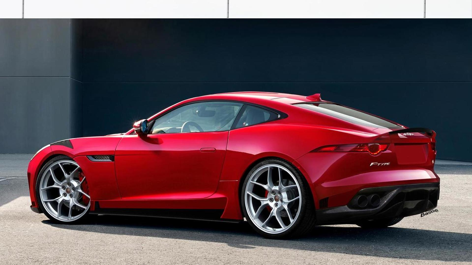 jaguar f type coupe rs and rs gt editions confirmed and rendered. Black Bedroom Furniture Sets. Home Design Ideas