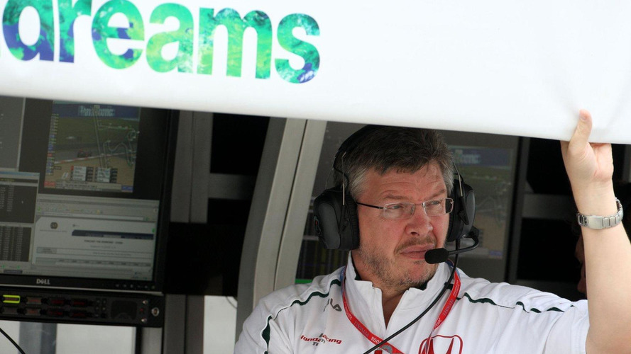 Brawn not joining McLaren in 2014 - Button
