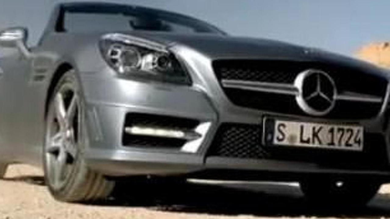 2012 Mercedes SLK commercial