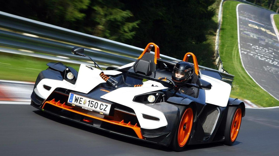 Hardcore KTM X-BOW R revealed for 2011