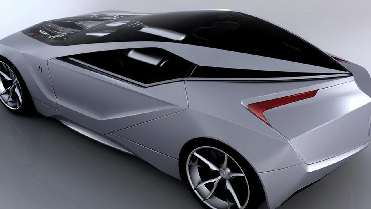 Acura 2+1 coupe concept