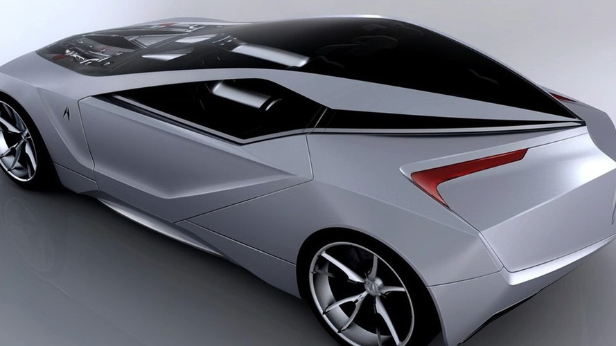 Design Proposal: Acura 2+1 Coupe Concept