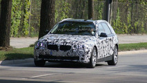2010 BMW 5-Series Touring prototype spy photo