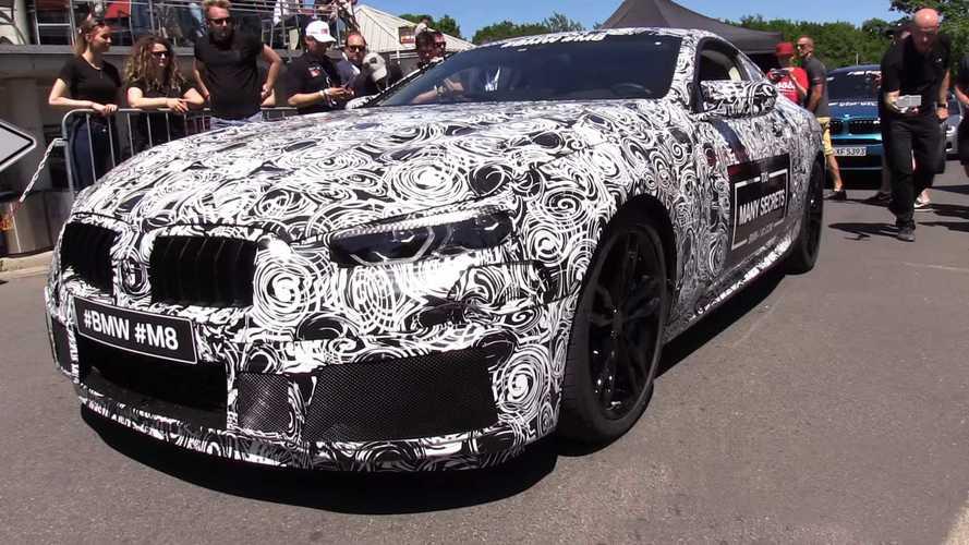 VIDÉO - La BMW M8 fait beaucoup de bruit