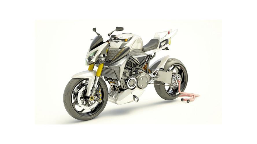Wankel motorlu hibrit motosiklet gelebilir