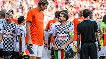 Dirk Nowitzki, NBA player and Sebastian Vettel, Ferrari