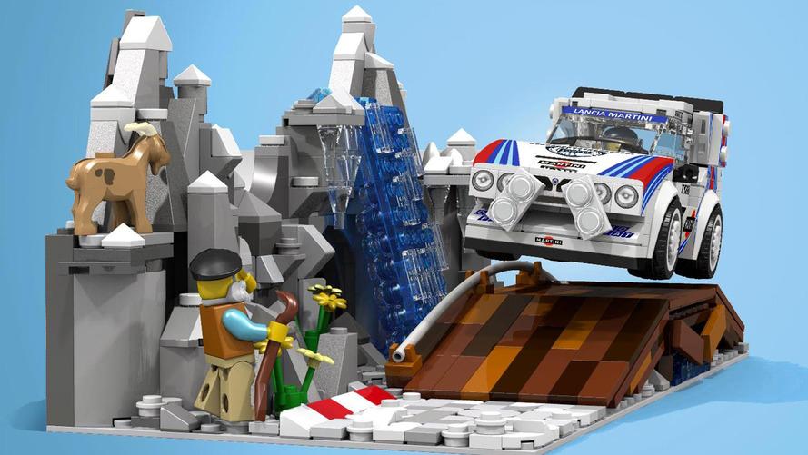 Lego Lancia Delta S4 Proposal
