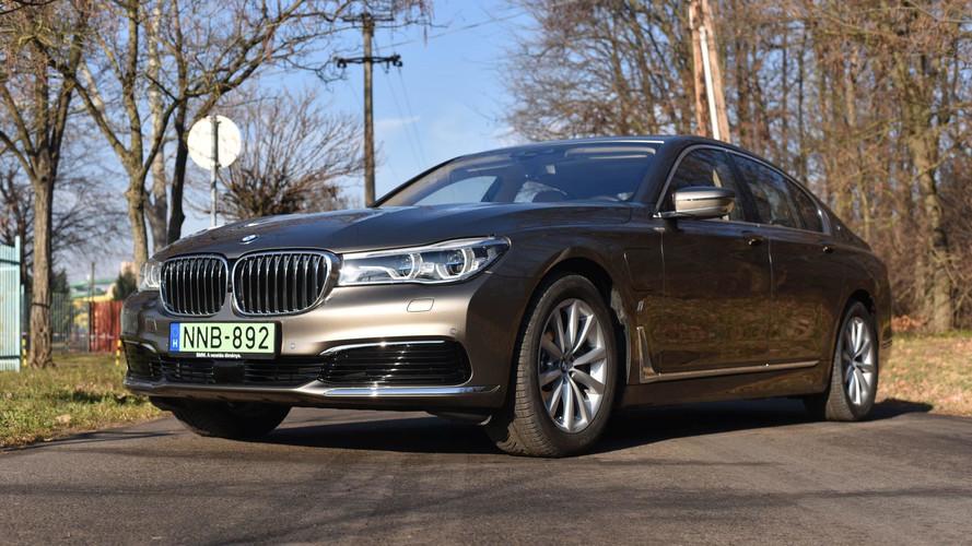 BMW 740e iPerformance Teszt