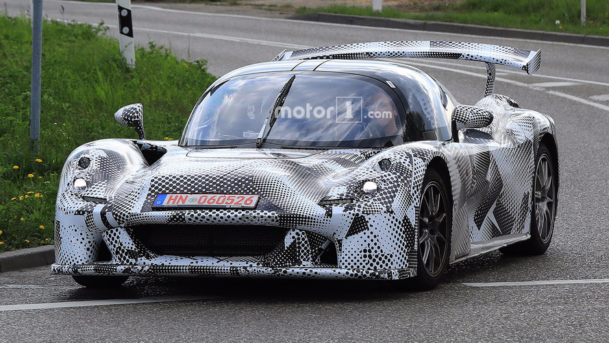 Dallara Road Car Spied With Form-Follows-Function Design