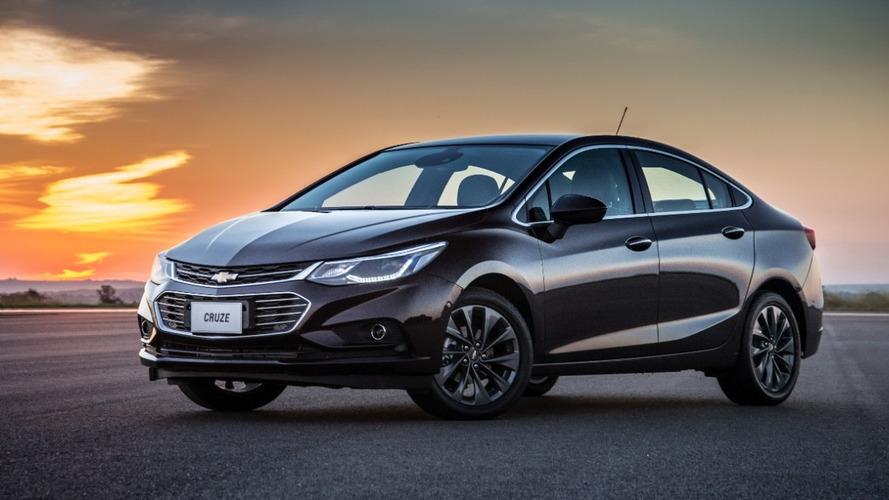 Chevrolet Cruze fica mais caro e preço inicial vai a R$ 91.790