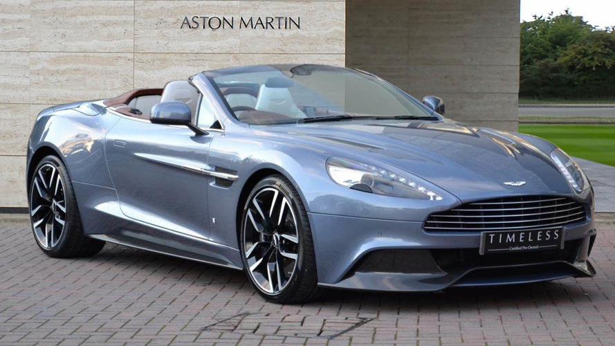 One-Off Aston Martin Vanquish Volante Could Be Yours For $295K