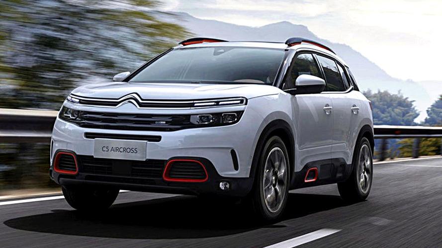 Citroën C5 Aircross Leaked Ahead Of Debut Next Week