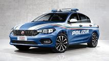 Fiat Tipo Polizia render