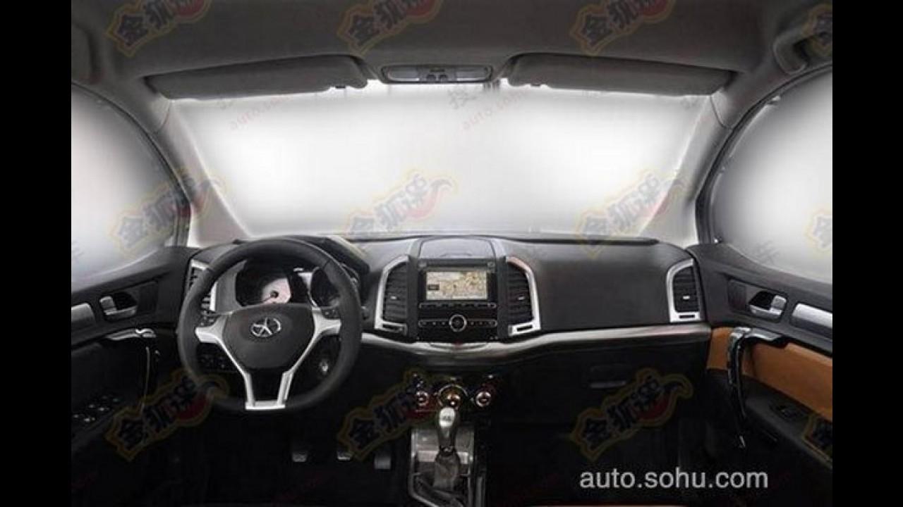 JAC Heyue S30 - Vazam imagens de novo SUV que pode ser feito no Brasil