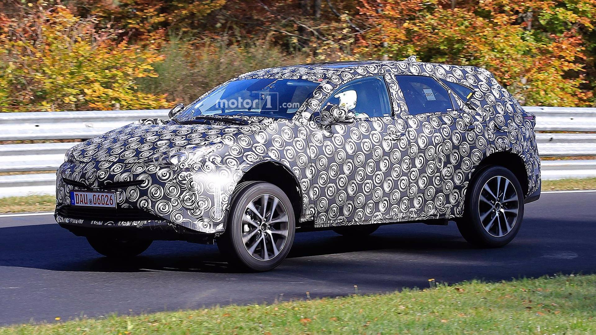 next gen toyota prius v spied for first time looks like cuv. Black Bedroom Furniture Sets. Home Design Ideas