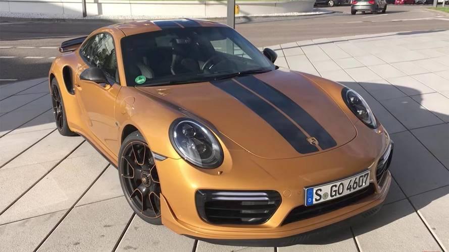 Video Shows Porsche 911 Turbo S Exclusive Series Hitting 213 MPH