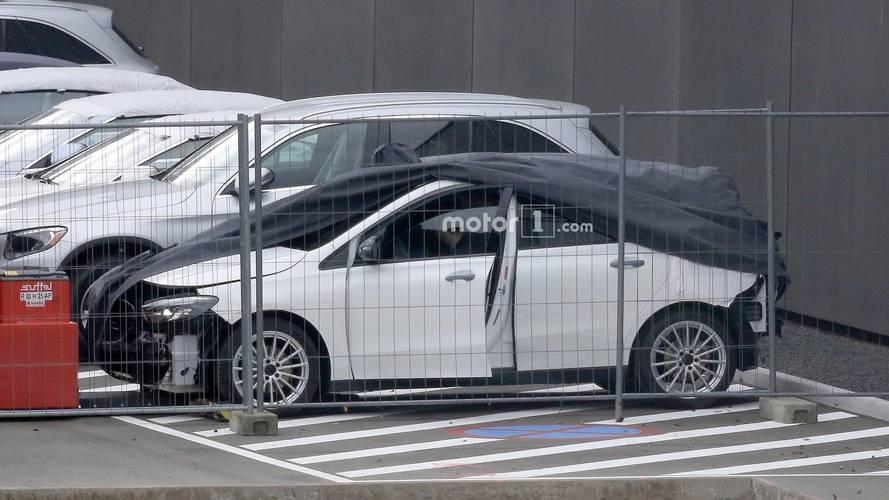 2019 Mercedes B serisi casus fotoğrafları
