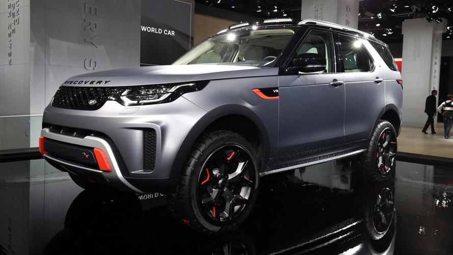 Land Rover Discovery SVX é versão super preparada com V8 de 525 cv