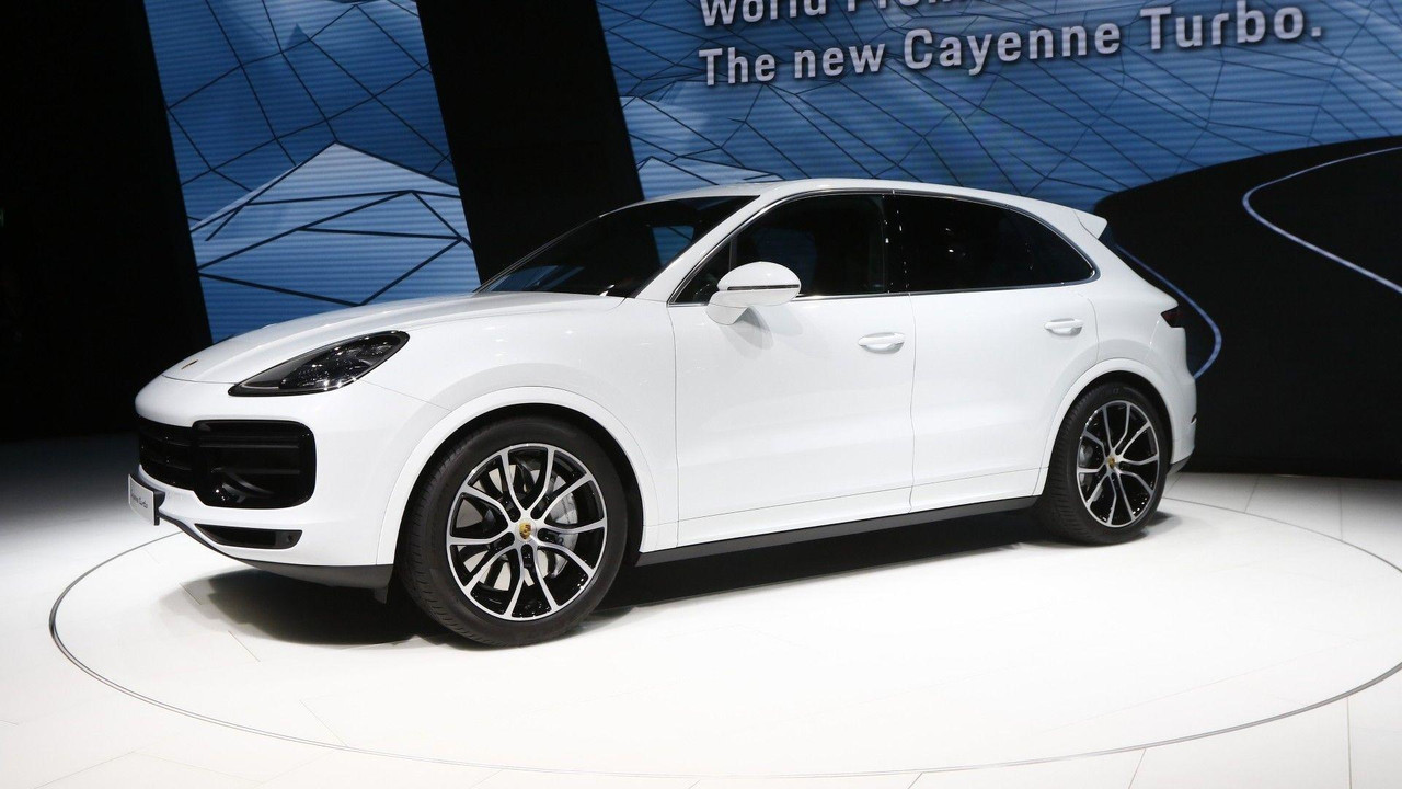 most expensive 2019 porsche cayenne turbo costs 166 310. Black Bedroom Furniture Sets. Home Design Ideas