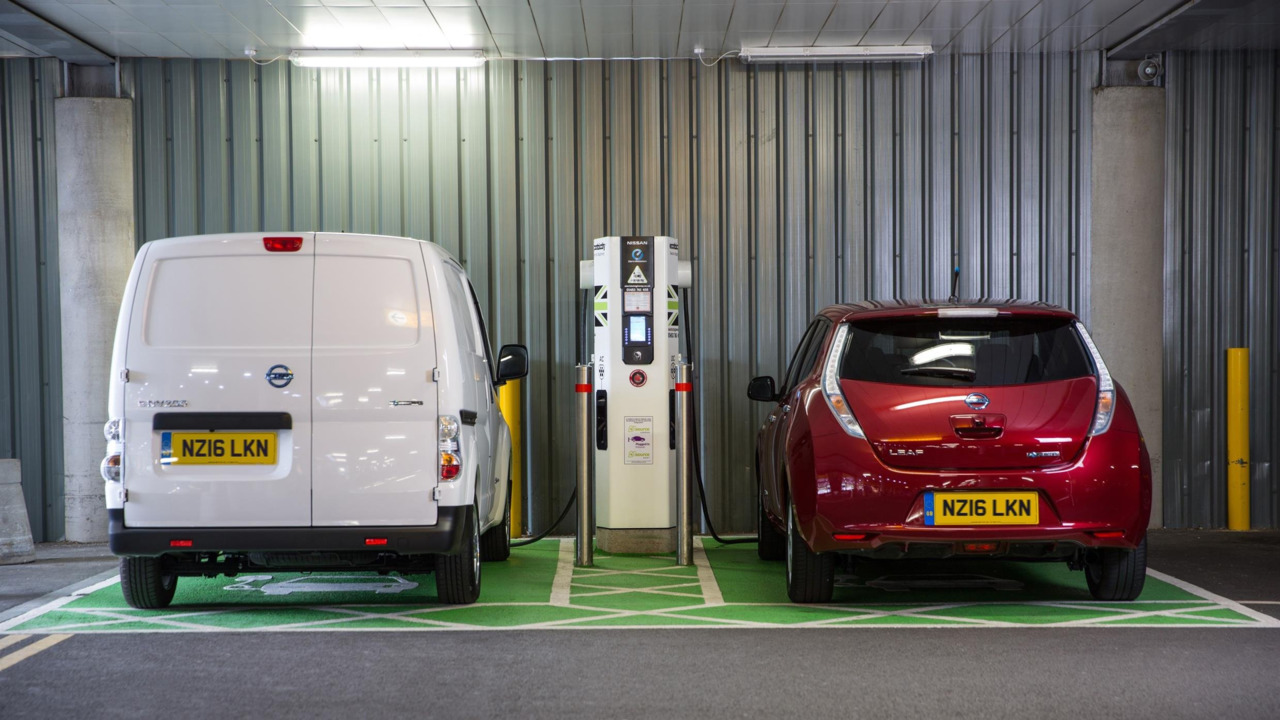 Nissan electric vehicles