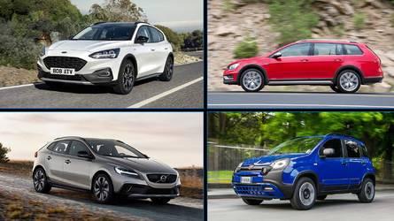 15 coches con estética campera: a imagen y semejanza de los SUV