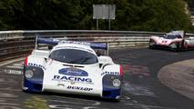 Porsche 956 C and 919 Hybrid Evo at The Nurburgring
