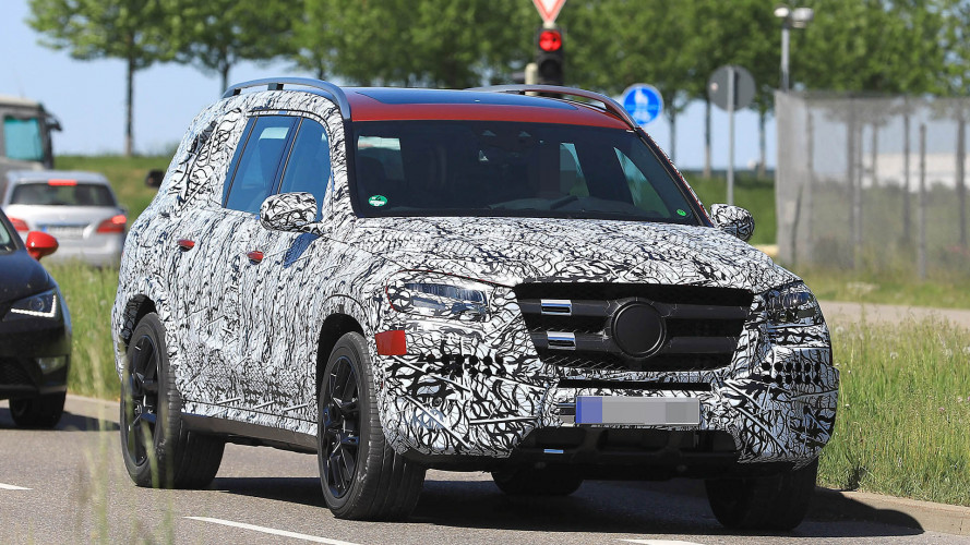 Erwischt: Mercedes GLS