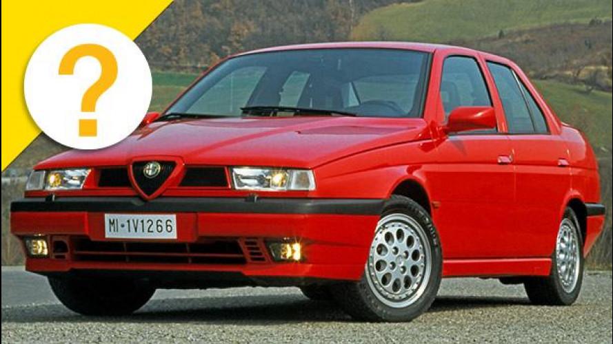 Alfa 155 Q4 e Lancia Dedra Integrale erano