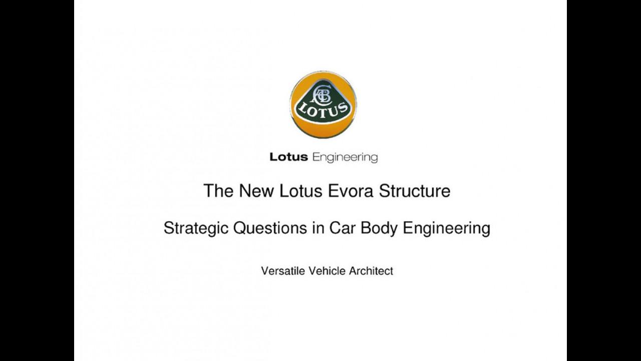 Lotus Evora: già predisposta per l'ibrido e l'elettrico