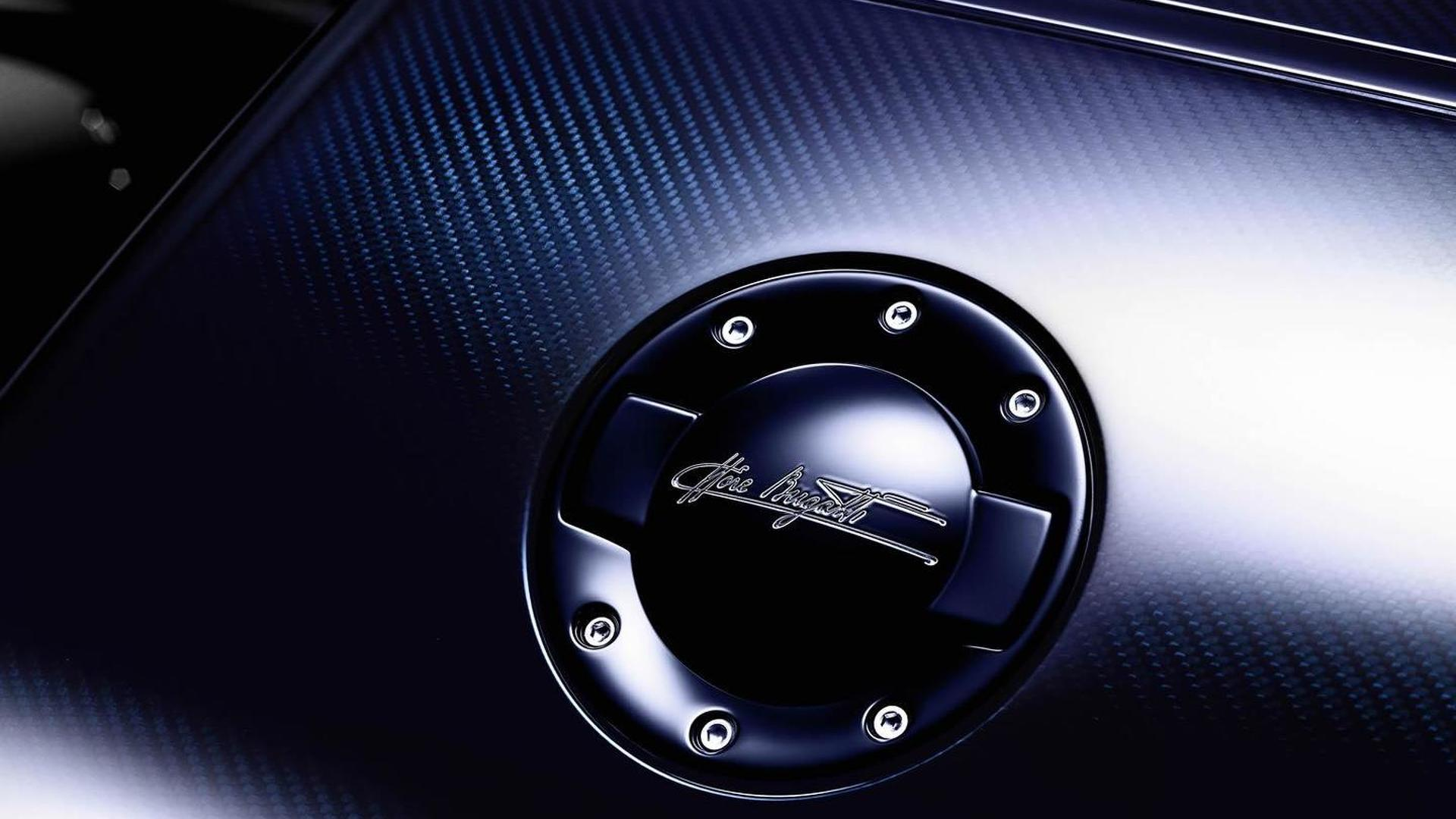 Крышка бака Bugatti Veyron Ettore Bugatti Edition