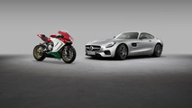 Mercedes-AMG GT S & MV Agusta F3 800 Ago